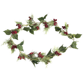 6 Ft. Berry Garland