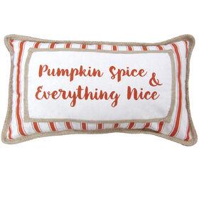 Jute Harvest Pumpkin Spice Pillow 14-inch x 24-inch
