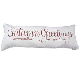 Autumn Greetings Pillow 38-inch x 14-inch