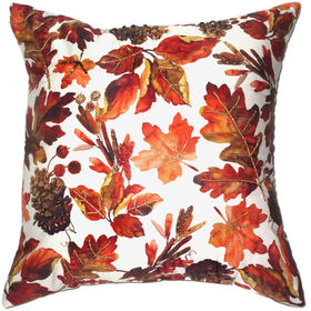 Harvest Print Beaded Leaves