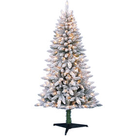 5 Ft. Preston Flocked Christmas Tree