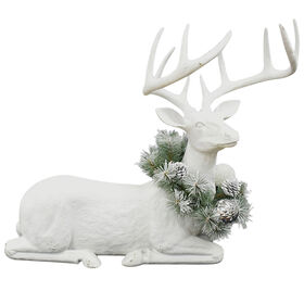 Resin Deer Wreath